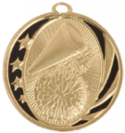 MidNite Star Medal - Cheerleading Cheerleading Medals