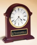 Napoleon Mantle Clock with Hand-rubbed Mahogany Finish Clocks