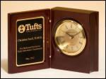 Book Clock - Rosewood Piano Finish Clocks