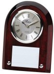 Rosewood Desk Clock Clocks