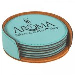Beverage Coasters - Set of 6 Round Coasters