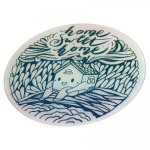 Glass Round Cutting Board - Full Color Personalization Cooking