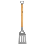 Bamboo Barbeque Spatula with Bottle Opener Cooking