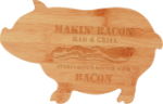 Bamboo Pig Cutting Board Cooking