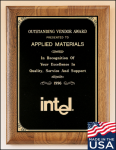 American Walnut Plaque Corporate Plaques Made in the USA