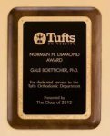 Walnut Plaque in 5 Sizes Corporate Plaques Made in the USA