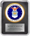 Hero Military Plaque - Air Force Corporate Plaques Made in the USA