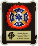 Hero Plaque - Firefighter/Medical/EMT Corporate Plaques Made in the USA