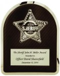 Hero Plaque - Sheriff Corporate Plaques Made in the USA