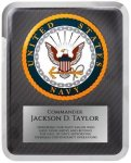 Hero Military Plaque - Navy Corporate Plaques Made in the USA