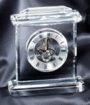 Crystal Skeleton Clock - Optical Crystal Crystal and Glass Clocks