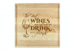 Square Maple Cutting Board with Juice Groove Cutting Boards