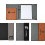 Canvas and Leatherette Portfolio - 7x9 Desk Pen Sets Portfolios and Business Card Holders