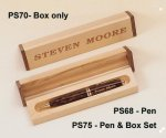 Tortoise Shell Finish Pen Desk Pen Sets Portfolios and Business Card Holders