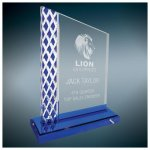 Unite Diamond Ice Acrylic - Blue Diamond Awards