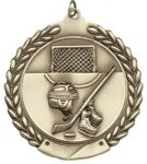 Hockey - Die Cast Wreath Medallion Die Cast Wreath Medallion