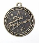 Star Performer - Scholastic Medal Series Drama Award Trophies