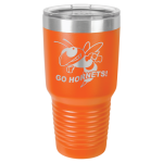 30 Oz Orange Coated Ringneck Tumbler with Lid Drinkware