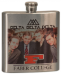 Flask - Front Color Custom Graphic Drinkware