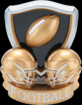 Football Shield Trophy Fantasy Champion Trophies over $25