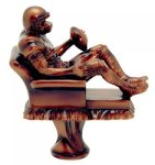 Armchair Quarterback Trophy Fantasy Champion Trophies over $25