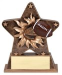 Football - Starburst Resin Series Fantasy Champion Trophies under $25