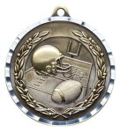 Diamond Cut Medal - Football Fantasy Football Awards