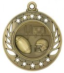 Football - Galaxy Medal Fantasy Football Medals