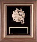 To Serve and Protect Fire Department Framed Award Fire, Police and Safety