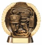 Law Enforcement American Tribute Resin    Fire, Police and Safety