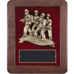 The Bravest - Firefighter Frame Plaque Fire, Police and Safety
