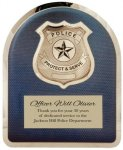 Hero Plaque - Police Fire, Police and Safety
