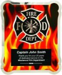 Hero Plaque - Firefighter Fire, Police and Safety