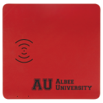Leatherette Phone Charging Mat - Red/Black Fire, Police and Safety