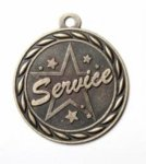 Service - Scholastic Medal Series Fire, Police and Safety