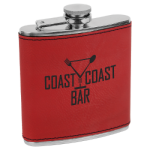 Flask - Leatherette Flasks and Bar Items