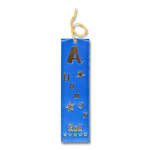 A Honor Roll Ribbon with Card and String Flat Ribbons - Card and String