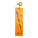 Honor Roll Ribbon with Card and String Flat Ribbons - Card and String