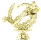 Double Action Rugby on Marble Base Football and Rugby Awards and Trophies