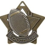 Football - Star Medallion Football and Rugby Medals