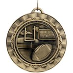 Football - Spinner Medallion Football and Rugby Medals