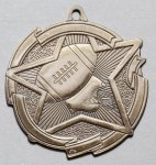 Football - Star Medal Football and Rugby Medals