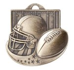 Football - Star Blast Series II Medal Football and Rugby Medals