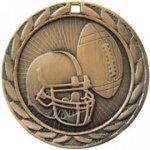 Football - FE Iron Medal Football and Rugby Medals