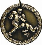 Football - XR Medallion Football and Rugby Medals