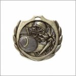 Football - Burst Medal Football and Rugby Medals