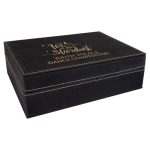 Premium Leatherette Gift Box - Black/Gold  Frames and Gifts