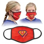 White Sublimatable Face Mask Full Color Novelties