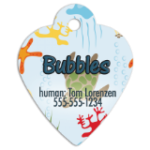Heart Pet Tag - Full Color   Full Color Sublimation Products