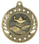 Lamp of Knowledge - Galaxy Medal Galaxy Medallion